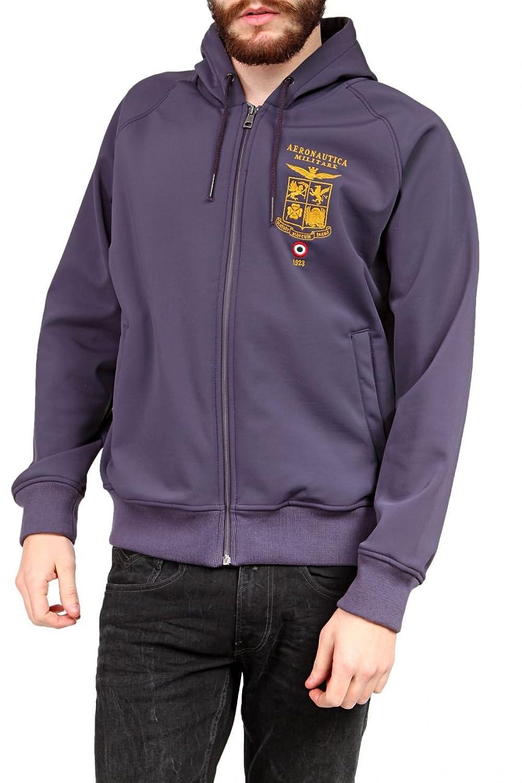 Aeronautica Militare Herren Blouson-Jacke , Farbe: Lila online kaufen