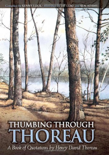 Thumbing Through Thoreau A Book of Quotations by Henry David Thoreau098225900X : image