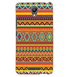 ColourCraft Tribal Pattern Design Back Case Cover for XIAOMI REDMI NOTE 2