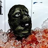 Halloween Latex Mummy Head Life Size Decoration Prop Haunted House Dead Zombie