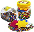 Hama Beads and Pegboards in Tub (Yellow)