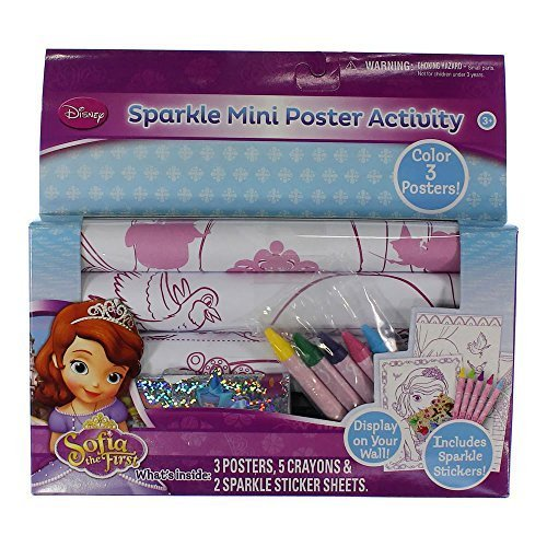 LICENSE Sofia Mini Sparkle Poster
