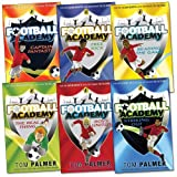 Tom Palmer Football Academy Pack, 6 books, RRP £31.94 (Captain Fantastic; Free Kick; Boys United; Reading The Game; Striking Out; The Real Thing).