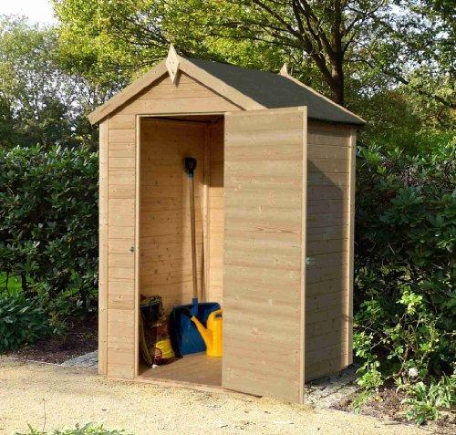 casetta in legno da giardino portattrezzi cm 122x206 mod. Black Bedroom Furniture Sets. Home Design Ideas