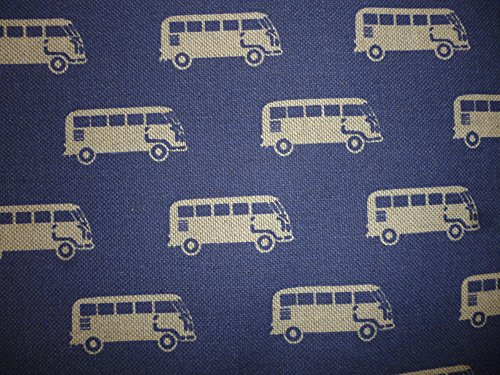 Pair of Vintage Denim Camper Van Range Cooker Hob Lid Covers Hob Top Pads