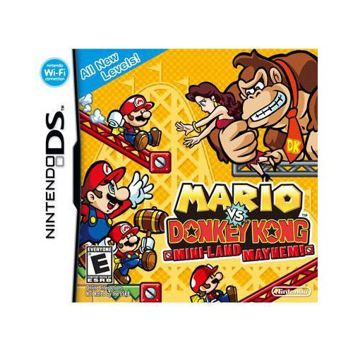 New Nintendo Mario Vs. Donkey Kong: Mini-Land 