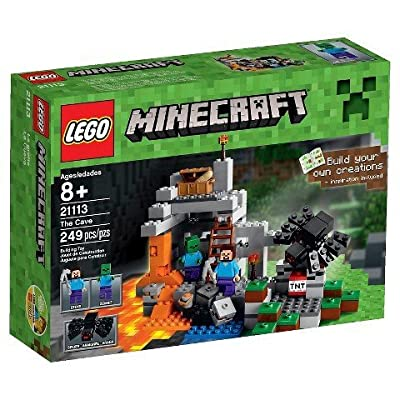 LEGO Minecraft Creative Adventures The Cave 21113 TRG from Home Comforts