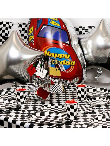 Costume Supercenter BB101326 Racing Party Ultimate Kit Serves 8 Guests