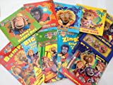 BBC Zingzillas Collection --10 Books- RRP £ 44.9 (Sweet Dreams,Drum/Zak Tidies up/Tang's Happy Day/Panzee plays hide and seek/Musical Meddley Magnet Book/Bumper Activity book/BING ZING Sparkling sticker book/I'm with the band backstage activity book/ZIN