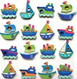Jolee's Boutique Dimensional Stickers, Boats
