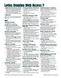 Lotus-Domino-Web-Access-DWA-7-Quick-Reference-Guide-Cheat-Sheet-of-Instructions-Tips--Shortcuts---Laminated-Card