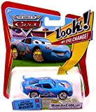 Disney Pixar P7009 Cars Lenticular Eyes #8 Bling Bling Lightning McQueen 1:55 Diecast Vehicle Car