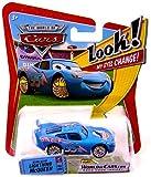 Disney Pixar P7009 Cars Lenticular Eyes #8 Bling Bling Lightning McQueen 1:55 Diecast Vehicle Car