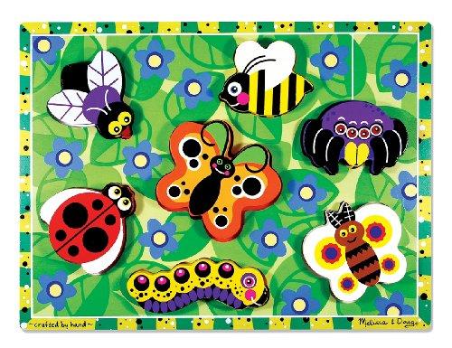 13729 - Holzklotz-Puzzle - insekten