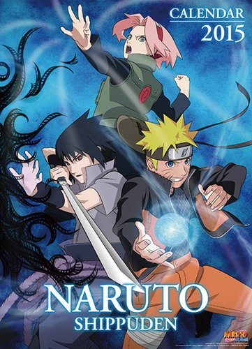 NARUTO-ナルト-疾風伝 2015年カレンダー 15CL-027