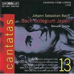 Bach, J.S.: Cantatas, Vol. 13 - Bwv 25, 50, 64, 69A, 77