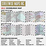 Streetwise Edinburgh Map - Laminated City Center Street Map of Edinburgh, Scotland: Folding Pocket Size Travel Map (Streetwise (Streetwise Maps))