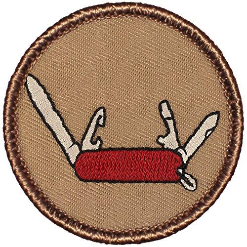 "Swiss Army Knife Patrol Patch - 2"" Round - FREE SHIPPING!"