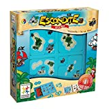 Smart Games - Escondite en la isla, juego de ingenio con retos progresivos (SG102)