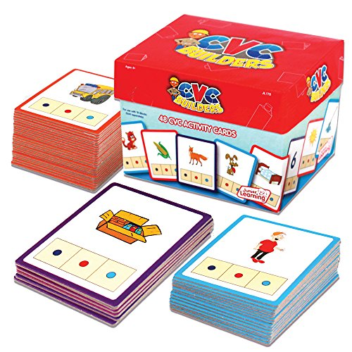 Junior Learning CVC Word Builders Activity Cards (Building Words compare prices)