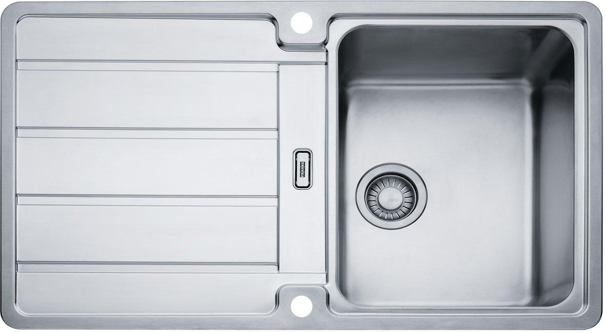 Franke KüchenSpüle Hydros HDX 614 (101.0303.619)  Edelstahl  BaumarktKundenbewertungen