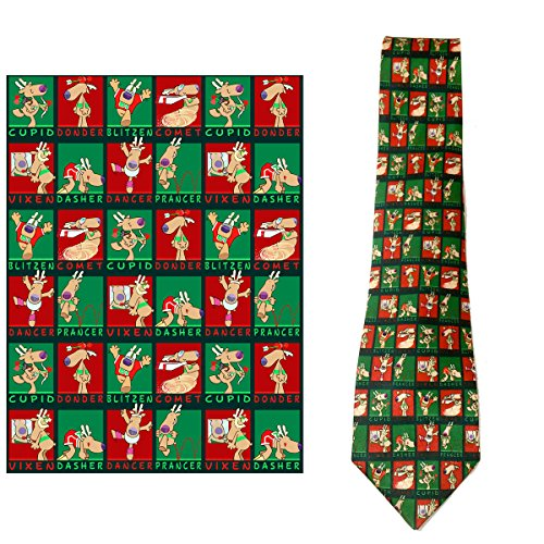 Stonehouse Collection Men's Christmas Tie - Funny Christmas Necktie (Funny Men Ties compare prices)