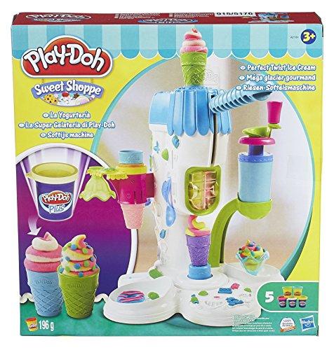 Play-Doh - La Yogurtería, juego de actividades creativas (Hasbro A2104E24)