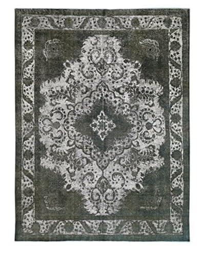 Kalaty One-of-a-Kind Pak Vintage Rug, Light Gray, 9′ 5″ x 12′ 6″