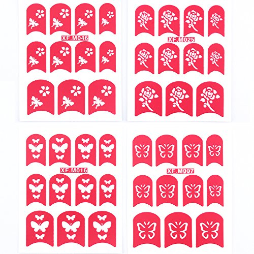 Yao-Shun-Nail-StickersWater-Transfer-Decals-Nail-Hydroplaning-Nail-Art-Flowers