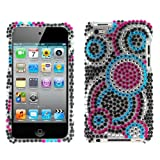 GTMax Bubble Snap On Diamond Hard Cover Case For Apple iPod touch 8GB 32GB 64GB (4th Generation) 4 4G NEWEST MODEL