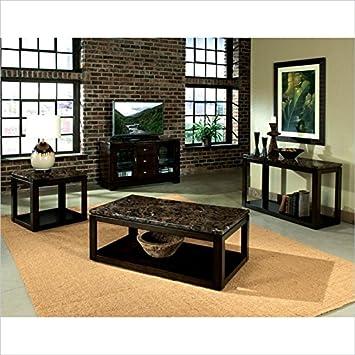 Standard Furniture Bella 3 Piece Coffee Table Set