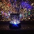 Ostart LED Projector Lamp Night Light Romantic Colourful Cosmos Star For Christmas Light