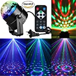 RECHING Crystal Magic Rotating Ball 2nd Generation Effect Led Stage Lights 7 Color Changing 3W RGB For KTV Lighting Xmas Party Wedding Show Club Pub Disco DJ Lighting(RGB 3W) from Reching