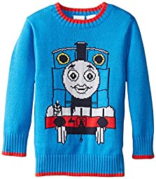 Thomas & Friends Little Boys\' Thomas Boys Sweater, Blue, 2T