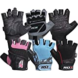 RDX Amara Leather Women's Weight Lifting Gym Gloves Crossfit Training Fitness Exercise
