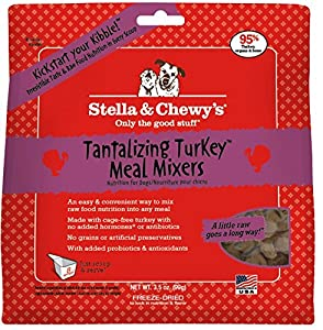 Stella & Chewy's Meal Mixers Freeze Dried Tantalizing Turkey 3.5 Oz
