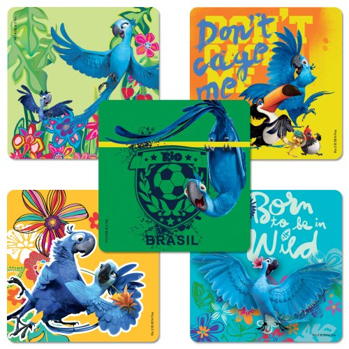 Rio 2 Stickers - 75 Per Pack