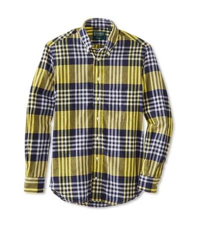 Gitman Vintage Men's Plaid Button Down Shirt