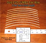 Guitar/Bass Fret Wire - Jescar Gold JUMBO Size - Six Feet