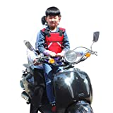 Superdream Children Motorcycle Safety Seats Belt Harness for Riding Horseback Snowmobile (Red) (Color: Red)