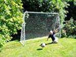 6ft x 10ft Football Goal with metal f...