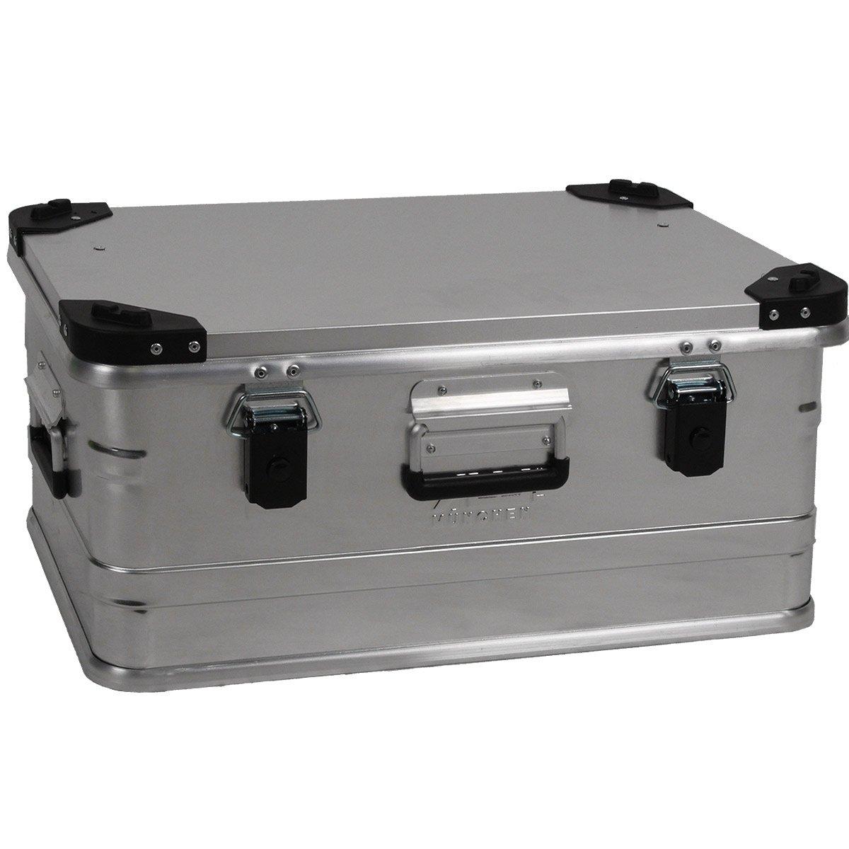 Alukoffer Alubox Lagerbox Alukiste Kiste 47 Liter  D47 1,0 mm starkes Aluminium  BaumarktÜberprüfung und weitere Informationen