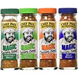 Chef Paul Prudhomme's Magic Seasoning Blends ~ Magic 4-Pack, Qty. Four  2-ounce bottels