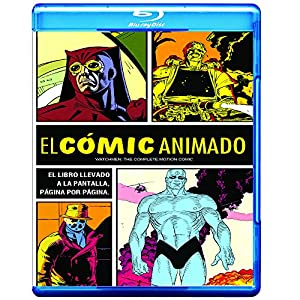 Watchmen: The Complete Motion Comic (+ BD-Live) [Blu-ray]