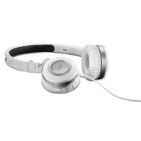 AKG K430WMKII - Auriculares de diadema cerrados (control remoto integrado), blanco