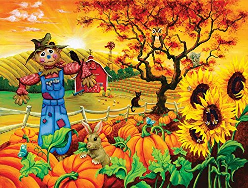Scarecrow and Friends a 300-Piece Jigsaw Puzzle by Sunsout Inc.