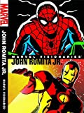img - for Marvel Visionaries: John Romita Jr. HC book / textbook / text book