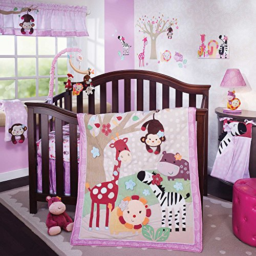 Jelly Bean Jungle 5 Piece Crib Bedding Set By Lambs & Ivy front-1073034