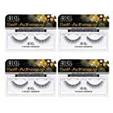 Ardell False Eye Lashes Self-Adhesive 110S 4 pack (Tamaño: Self-Adhesive 110S)