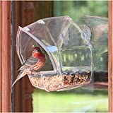 Birdscapes Birdscapes Clear Window Feeder